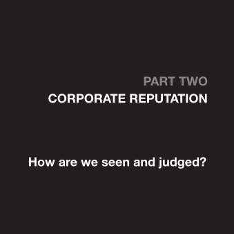 Part Two - Corporate Reputation
