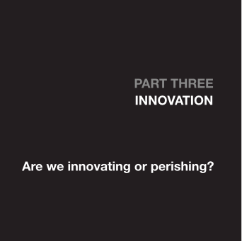 Part 3 - Innovation